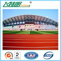 Recycled rubber flooring running track surface material for All weather material