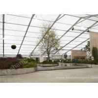Cheap Large Clear Span Transparent PVC Cover Aluminum Alloy Frame Outdoor Party Tents wholesale