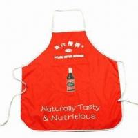 Cheap Promotional Apron, Customized Colors are Accepted for sale
