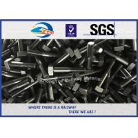 Quality Square Railway Bolt DIN ASTM Standard HDG M20 M22 M24 M30 Steel Bolts And Nuts wholesale