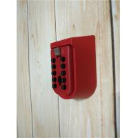 Cheap OEM Strong Key Pad Lock Box Wall Mounted Personalized With Metal Body for sale