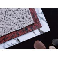 Quality Granite Marble Effect  Aluminum Composite Panel wholesale