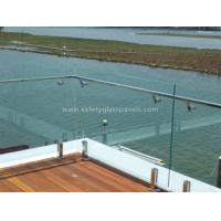 Cheap Custom Colored Balustrade Glass Balcony Railing 6mm 8mm 10mm 12mm for sale