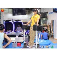 China Professional Standing Up 9D VR Standing Roller Coaster 9D Cinema Simulator on sale