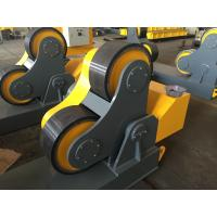 Cheap Rubber Wheels Pipe Turning Rolls For Piping Fabricate , Loading Maximum To 40 Ton for sale