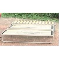 China Adjustable metal sofa bed frame with wooden slat A011 on sale