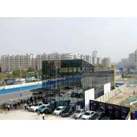 Cheap Painting / Galvanizing Prefabricated Steel Frame Buildings For Exhibition Hall for sale