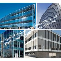 Cheap Double GlazedInsulation And Laminater Glass Facade Curtain Wall Unitized And Stick Built System for sale