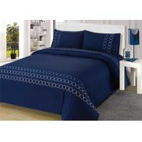 Cheap 100% Cotton Embroidered Modern Bedding Sets 4Pcs Double Size Bedding Sets wholesale