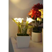 China solar power LED calla lily on sale