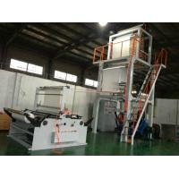 Auto PE Film Blowing Machine with Double Winder , Plastic Blowing Machinery