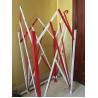 Buy cheap Highway Metal Road Barriers Powder Coated Steel Traffic Barriers Flexible from wholesalers