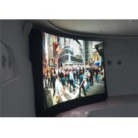 Cheap High Refresh P3 Indoor LED Display , SMD2020 Curved Flat Screen For Video Advertising for sale