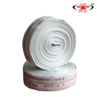 Cheap canvas fire hose or layflat fire hose , jacketed fire hose for sale