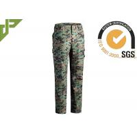 Cheap Multicam Military Grade Cargo Pants / Camouflage Woodland Tactical Pants For Hunting for sale