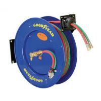 Buy cheap Goodyear Dual Hose Compressed Welding Hose Reel Heavy-Duty Steel Construction from wholesalers