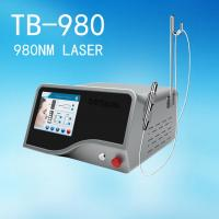 Quality Clinic 980 nm Diode Laser Vascualr Removal Treatment / Spider Vein Removal wholesale