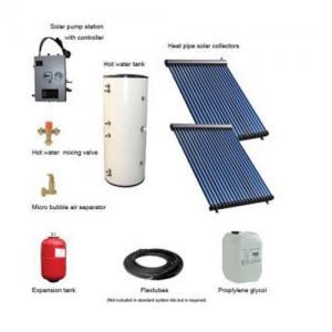 Cheap double assurance 500L split pressurized solar collector for sale