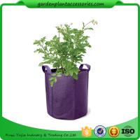 Cheap Hanging Grow Bags Garden Plant Accessories , Garden Grow Bags For Plants wholesale