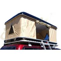 Cheap Double Layer Automatic Hard Top Car Tent , 3 Person Roof Top Tent Custom Printed for sale