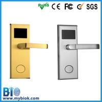 Cheap Hotel RFID Electronic Door Lock With Mechanical Key Bio-LM601 for sale