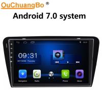 Cheap Ouchuangbo car radio gps navi bluetooth stereo for Skoda Octavia 2015 with USB SWC wifi reverse camera android 7.0 for sale