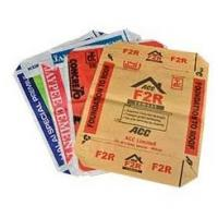 Buy cheap Polypropylene Woven Cement Valve Bags , Waterproof Cement Packing Bags from wholesalers