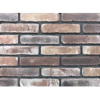Cheap Antique Thin Brick Veneer Through Molded / Sintered With Different Colors Mixed wholesale