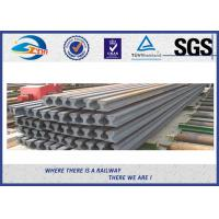 Cheap JIS E Standard 15kg Plain Steel Crane Rail Gantry Crane Track ZHONGYUE for sale