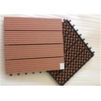 Quality Wood Plastic Composite DIY Flooring Board with colorful light wholesale