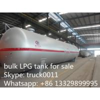 ASME standard 115cbm surface LPG gas storage tank for sale, best price big volume lpg gas storage tank for propane
