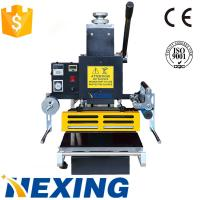 China HX-368 max.pressure 3 ton manual hot stamping machine for leather, paper, on sale