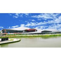Cheap Guangzhou Asian Games Gymnasium Facade curved toughened glass for sale