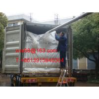 Cheap ISO9001 / ISO14000 20ft PP woven dry bulk container liner for PET resin for sale