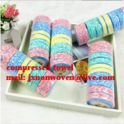 China magic towel/100% cotton compressed towel  on sale