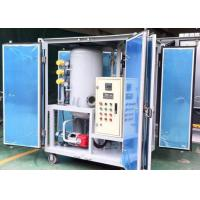China ZJA-1.8KY 1800L/H Small Transformer Oil Filtration Plant with High Vacuum System on sale