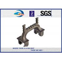 Quality Railway Fastener Forging Railway Shoulder Railway Sleeper With Rail Clips wholesale