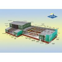Cheap Water Proof Steel Structure Workshop Buildings Hot Dip Galvanized Surface for sale