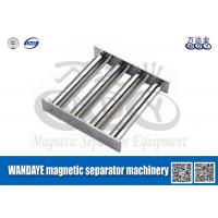 Buy cheap Powerful Magnetic Separator Machine , Stainless Steel Magnetic Filter / Shelf / Gray from Wholesalers