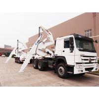 Cheap TITAN 37 tonne lifting capacity Side lifter self-loading trailers , 3 axles side loader trucks Trailer for sale