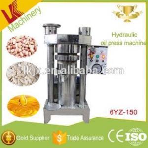 Cheap lianke 6YZ-150 hydraulic peanut oil press machine kernel corn mini oil press avocado oil for sale