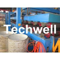 China Rock Wool Insulated Sandwich Panel Cold Roll Forming Machine 0 - 4.05 m / Min Speed on sale