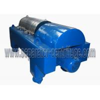 China PLC Control Water Sludge Decanter Centrifuge Continuous Centrifuge With SKF Bearing on sale