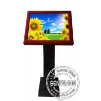 Cheap Full HD Sensor Touch Screen Kiosk Digital Signage , 19 Inch LCD Advertising Players for sale