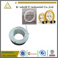 Cheap High quality Nylon/PVC coated steel wire Cable puller rod with steel wire cable for sale