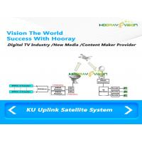 Cheap Uplink Ku Band Transmitter Satellite TV System With CAS SMS Web Cloud Charge wholesale