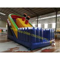 Cheap pirate bulk inflatable slide for kids for sale
