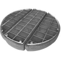 China Precise Oil Mesh Pad Mist Eliminator Wear Resistance For Chemical Columns on sale