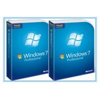Cheap Microsoft Windows Software Windows 7 Pro 64 Bit Full Retail Version DVD Sofware With COA 100% Activation wholesale