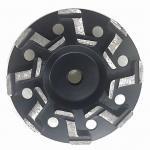 "Cheap 5"" Inch 7"" Inch S segment Aggressive Diamond Grinding Concrete Cup Wheels for concrete for sale"